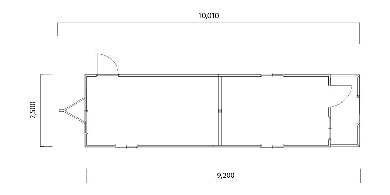 カレント900 フロアプラン